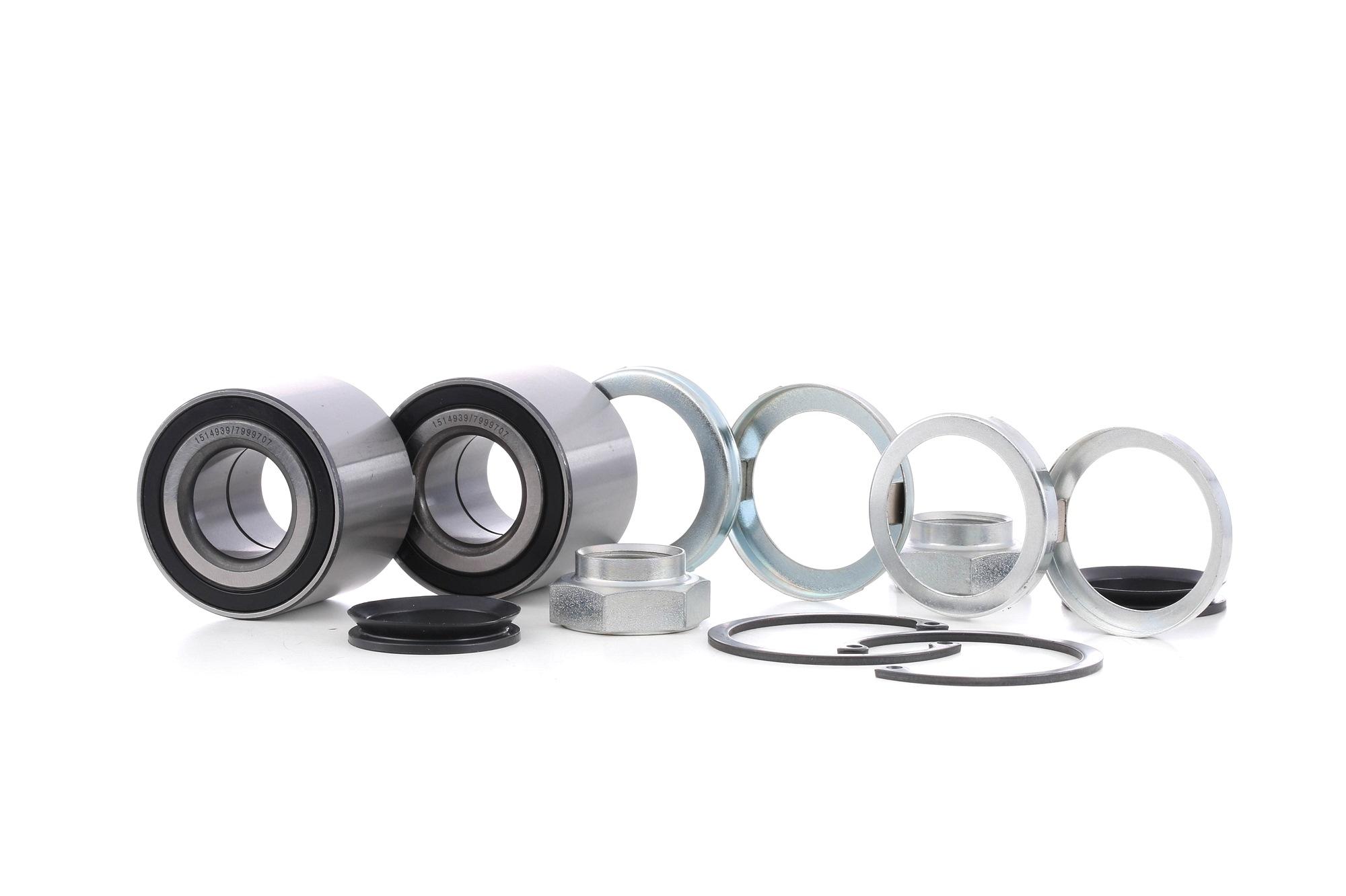 Wheel Bearing RIDEX 654W0885 rating