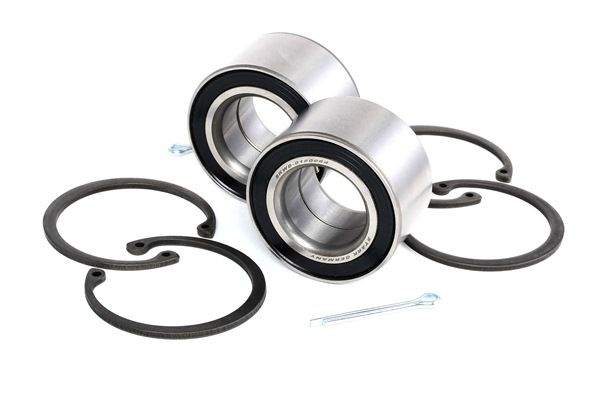 Wheel hub STARK 13560487 Front axle both sides, Contains two wheel bearing sets