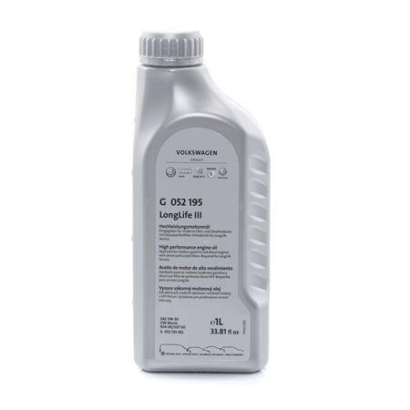 Двигателно масло 5W-30, съдържание: 1литър, Масло напълно синтетично EAN: 2505820472016
