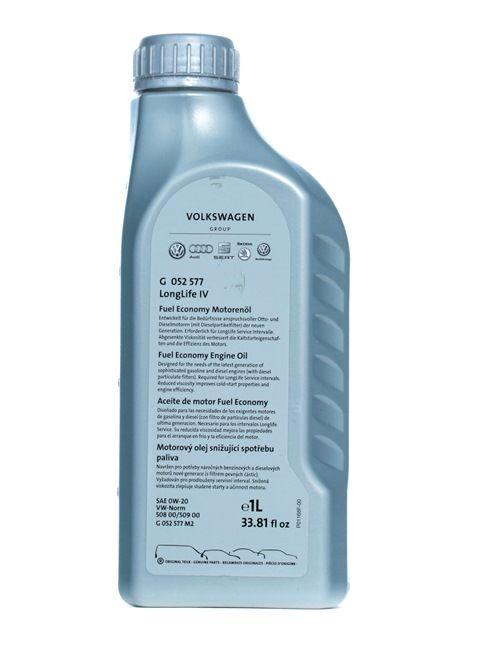 Olio auto 0W-20, Contenuto: 1l, Olio sintetico EAN: G 055577M2