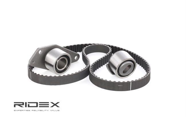 Cam belt kit RIDEX 13563142 Teeth Quant.: 125
