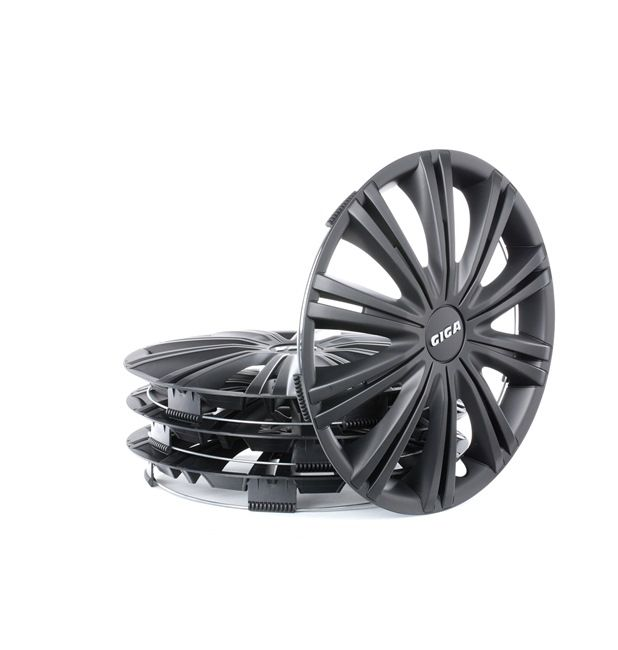 Wheel covers Quantity Unit: Kit, Black 13GIGABLACK