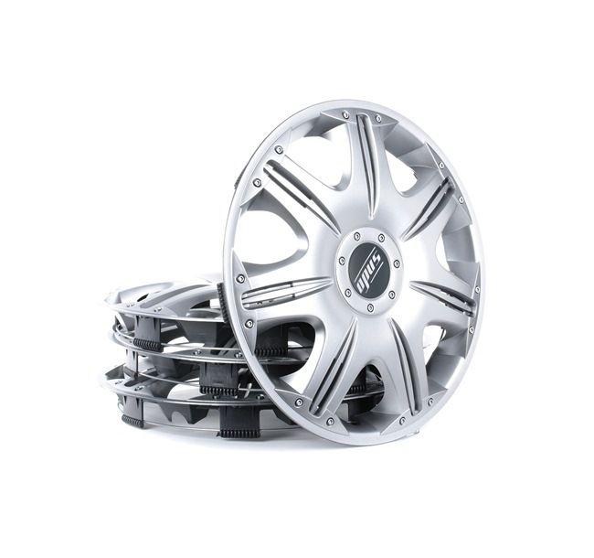 Hjulkapsler Mængdeenhed: sæt, sølv 14OPUS