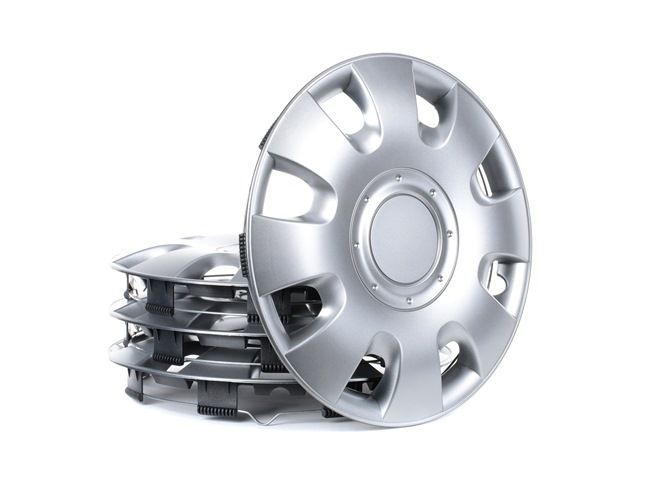 Капаци за колела единица-мярка за количество: комплект, сребърен 14RADIUS