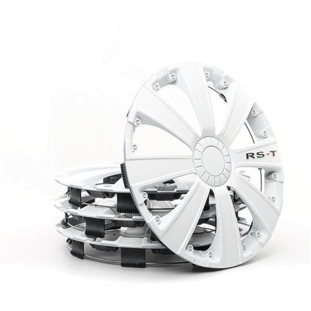 ARGO Hjulkapsler 14 RST WHITE