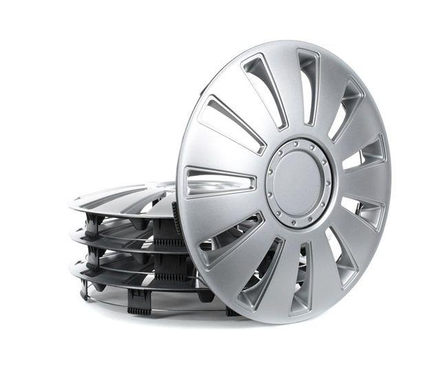 Hjulkapsler Mængdeenhed: sæt, sølv 14SILVERSTONE