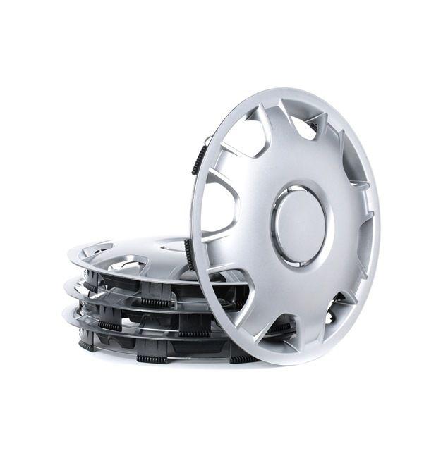 Капаци за колела единица-мярка за количество: комплект, сребърен 14SPEED