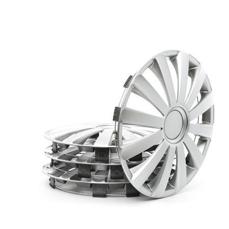 Капаци за колела единица-мярка за количество: комплект, сребърен 14SPYDER