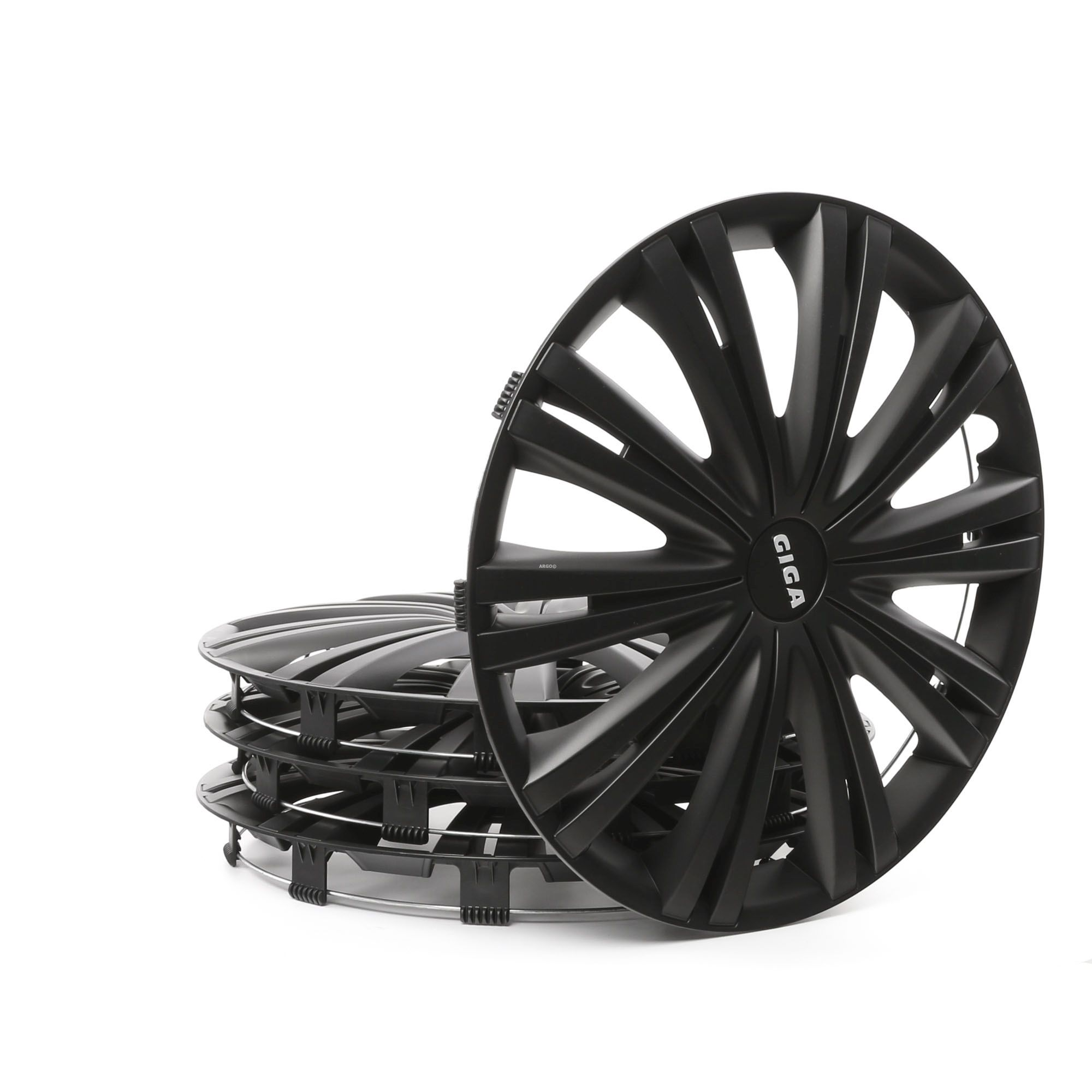 Hjulkapsler ARGO 15 GIGA BLACK Rating