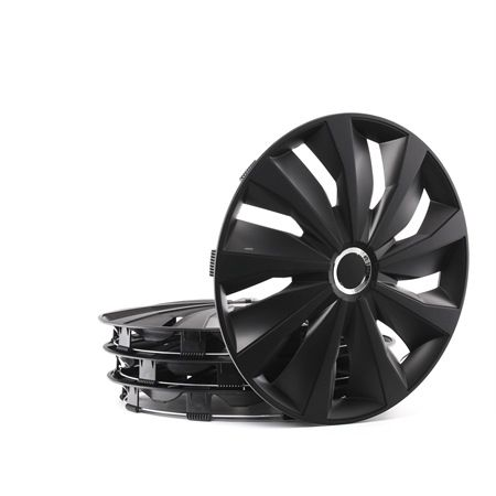Wheel covers Quantity Unit: Kit, Black 16GRIPPROBLACK