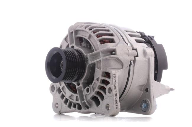 RIDEX Generador VW Corr. carga alternador: 90A, Tensión: 12V