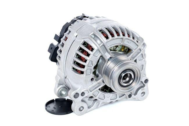 Generador RIDEX 13625809 Corr. carga alternador: 120A, Tensión: 14V, con regulador incorporado