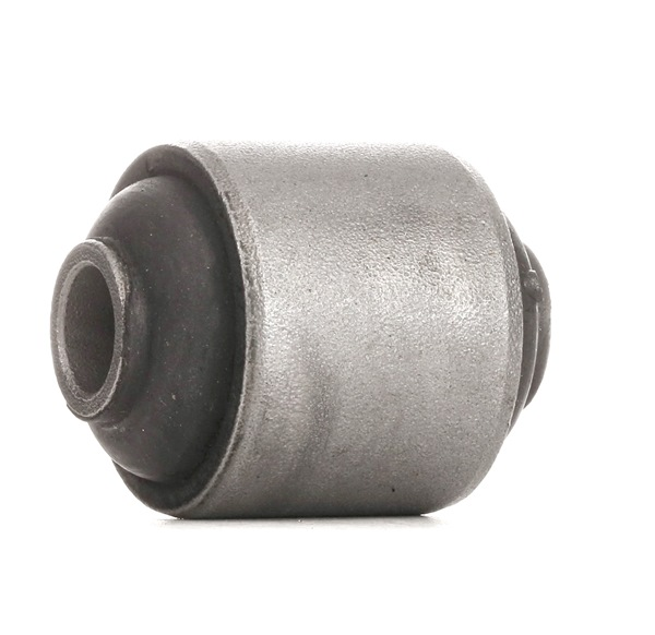 Trailing arm bushing RIDEX 13626411 Rear Axle left and right, Upper