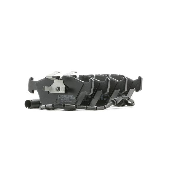 Bremsbelagsatz, Scheibenbremse Breite 1: 155,1mm, Breite 2: 154,6mm, Höhe 2: 63,9mm, Dicke/Stärke: 20,3mm mit OEM-Nummer 3411 1 163 387