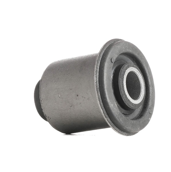 Trailing arm bushing RIDEX 13626491 Front, Front axle both sides, Lower, Rubber-Metal Mount, for control arm