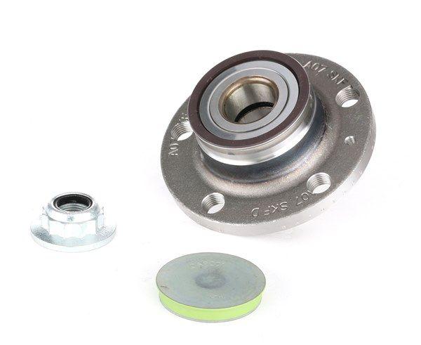 Hjulupphängning SKF Hjullagerssats med inbyggd ABS-sensor