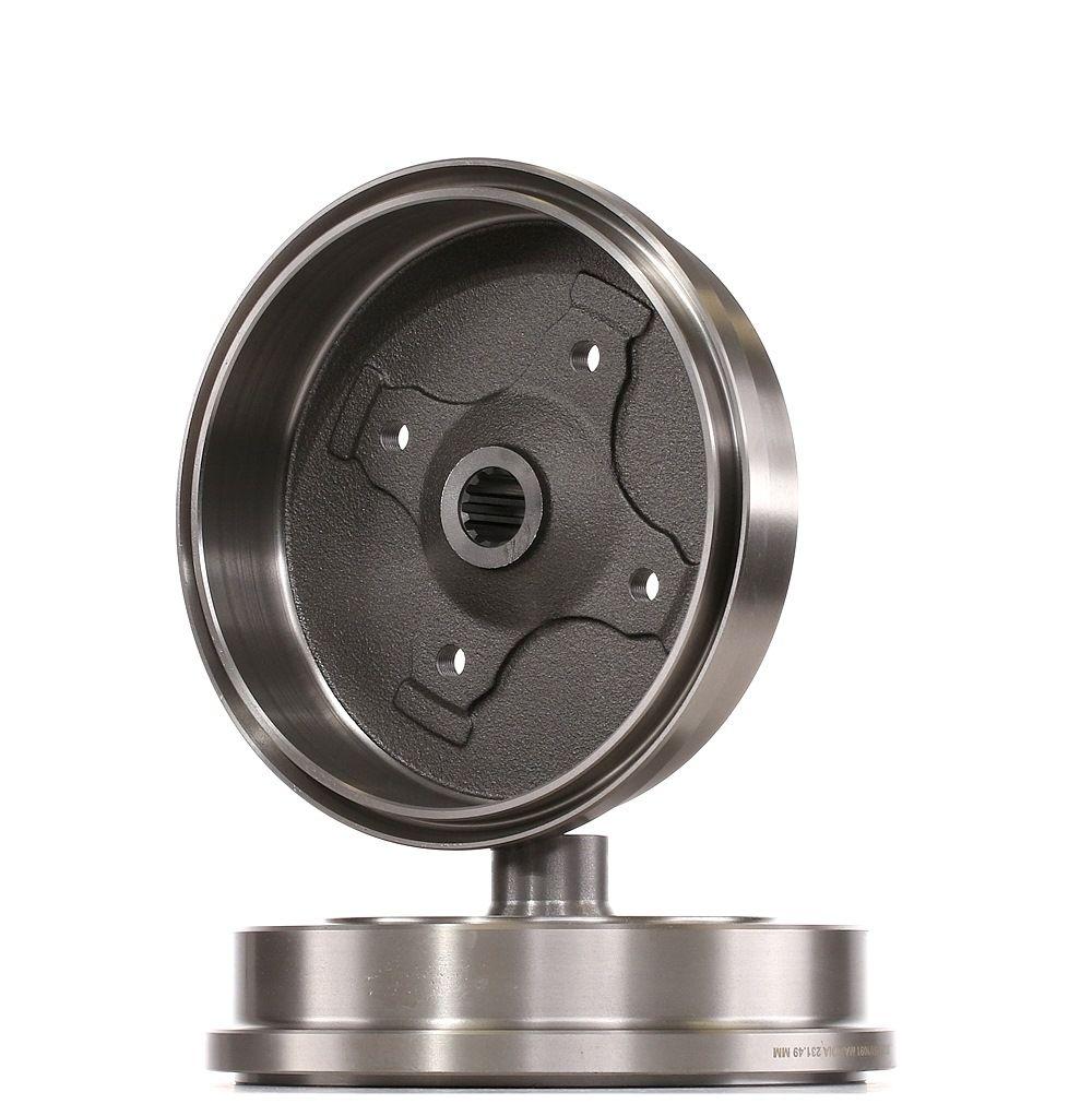 Bremstrommel RIDEX 123B0151 Bewertung