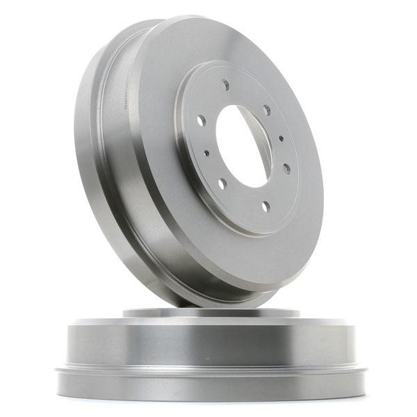 Frenos de tambor RIDEX 13627617 Eje trasero, sin buje de rueda, sin perno de sujeción de rueda