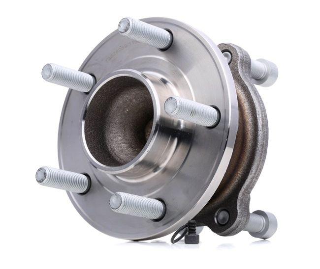 Wheel hub RIDEX 13628039 Rear Axle left and right