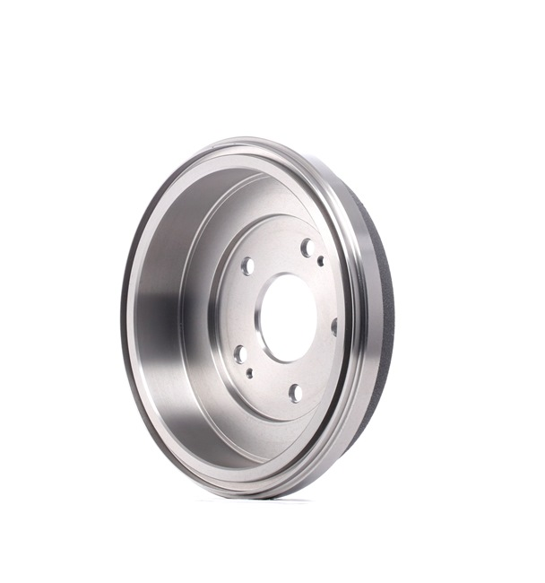 Brake drums and shoes RIDEX 13628271 Rear Axle