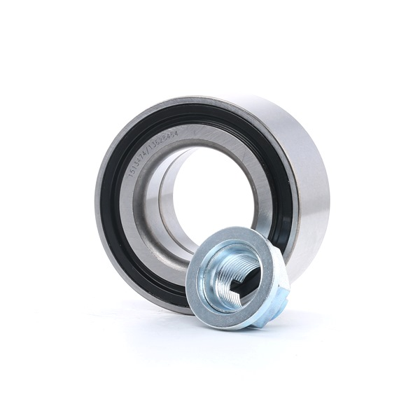 Wheel hub RIDEX 13628454 Front axle both sides, with integrated magnetic sensor ring, with nut