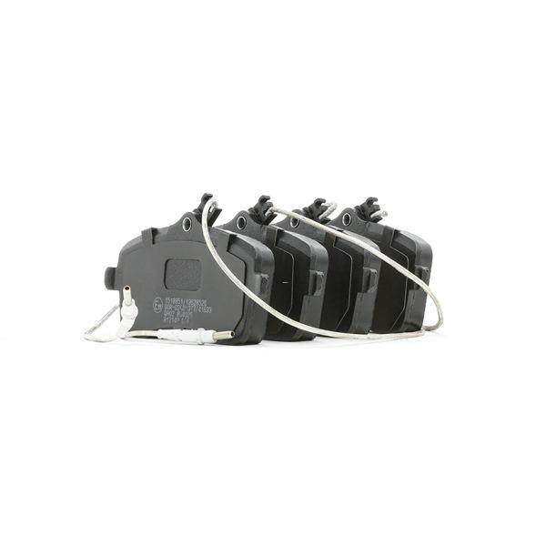 Bremsbelagsatz, Scheibenbremse Breite: 131,4mm, Höhe: 66,8mm, Dicke/Stärke: 18,7mm mit OEM-Nummer 425478