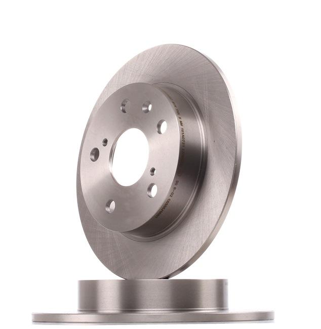 RIDEX 82B1436 Disc brake set