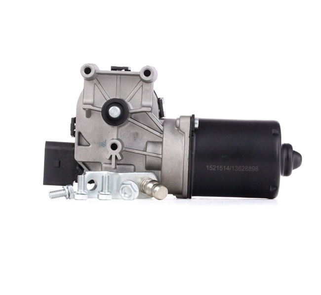 Windshield wiper motor RIDEX 13628898 Front, for left-hand drive vehicles