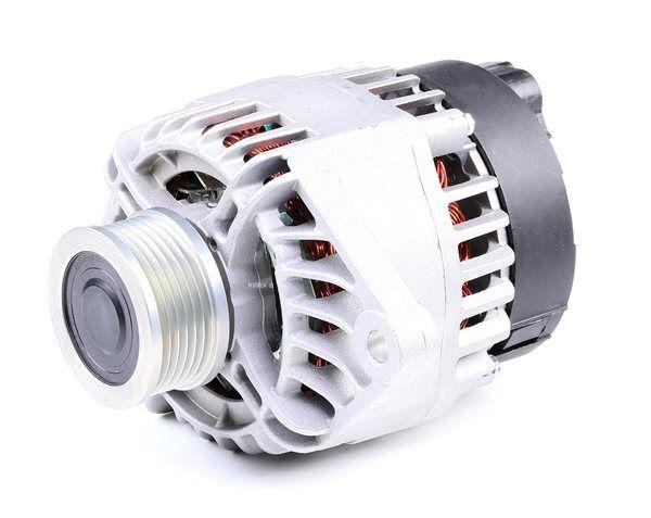 RIDEX Generador LANCIA Corr. carga alternador: 120A, Tensión: 14V, con regulador incorporado
