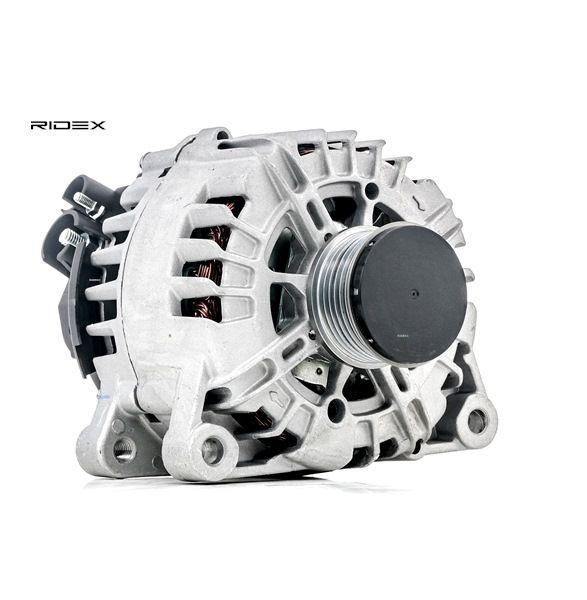 RIDEX Generador LANCIA Corr. carga alternador: 150A, Tensión: 14V
