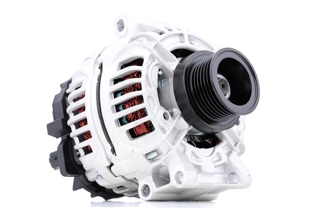 RIDEX Generador RENAULT Corr. carga alternador: 98A, Tensión: 14V