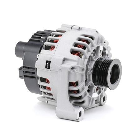RIDEX Generador ROVER Corr. carga alternador: 120A, Tensión: 12V, con regulador incorporado