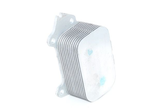 RIDEX Engine oil cooler Aluminium, Core Dimensions: 94 x 62 x 42 mm, with gaskets/seals