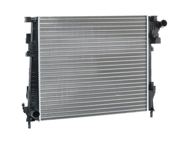 RIDEX Воден радиатор OPEL алуминий, запоени охлацдащи ламели