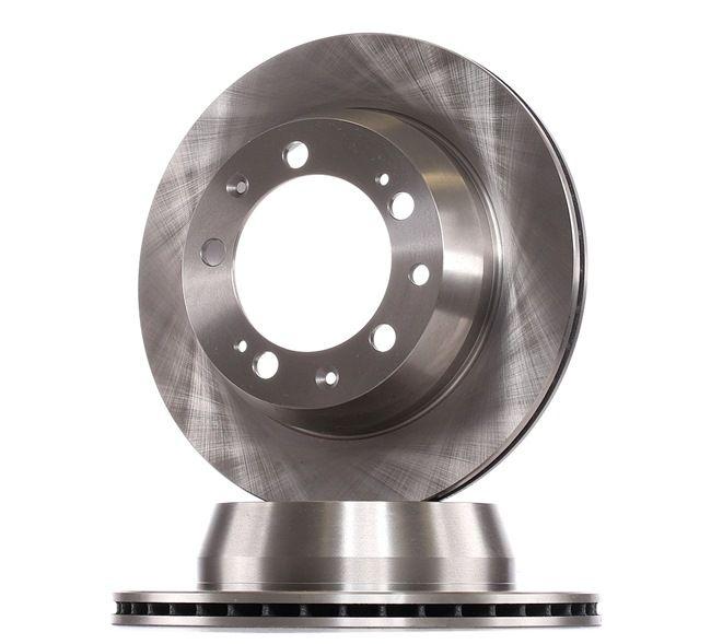 RIDEX 82B1236 Discos de freno