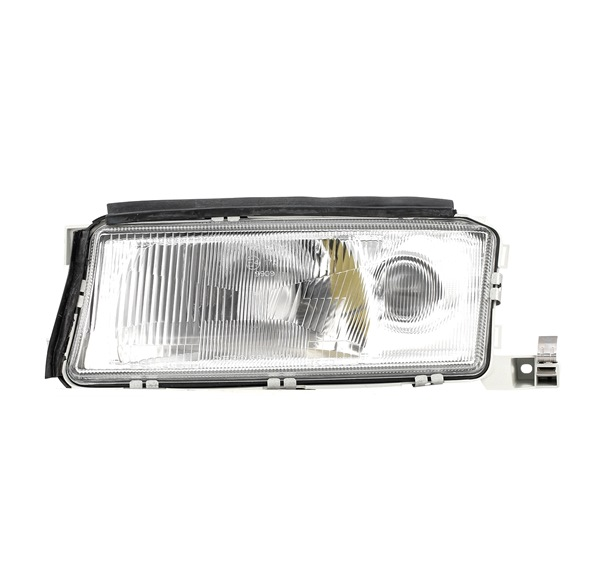 Headlamps RIDEX 13633400 Left, H3, H4, without motor for headlamp levelling, DE
