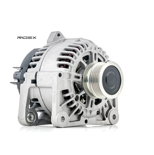 RIDEX Generador RENAULT Corr. carga alternador: 110A, Tensión: 12V, con regulador incorporado