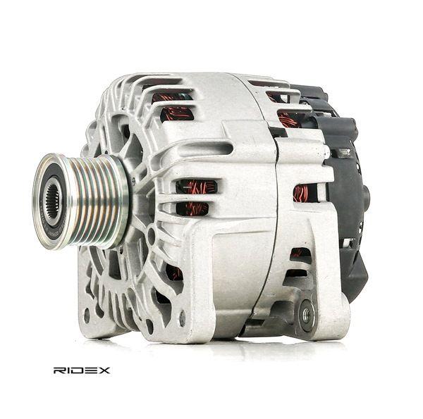 RIDEX Generador RENAULT Corr. carga alternador: 150,0A, Tensión: 14,0V