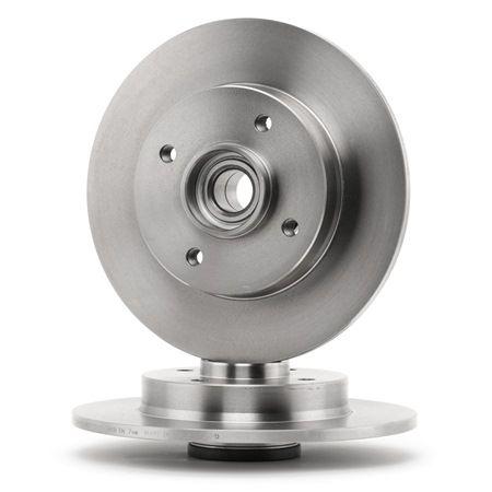 SKF Tarcza hamulcowa PEUGEOT pełny, ze zintegrowanym łożyskiem koła, ze zintegrowanym magnet. pierścieniem nadajnika impulsów