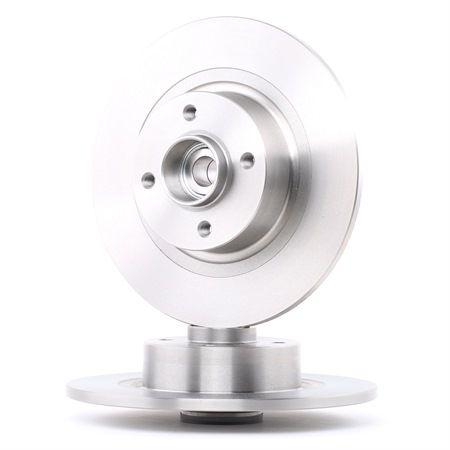 SKF Voll, mit integriertem magnetischen Sensorring, mit integriertem Radlager VKBD1014