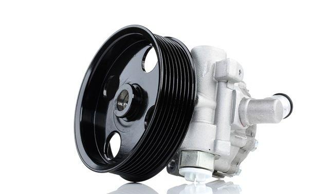 RIDEX Steering pump MERCEDES-BENZ Hydraulic, Number of ribs: 8, Belt Pulley Ø: 120mm