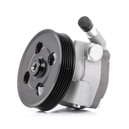 RIDEX Steering pump FORD Hydraulic, Number of ribs: 6, Belt Pulley Ø: 122mm