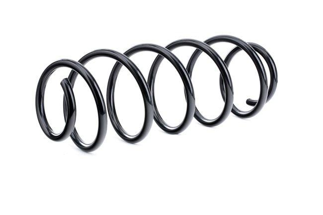 Coil springs RIDEX 13634879 Rear Axle