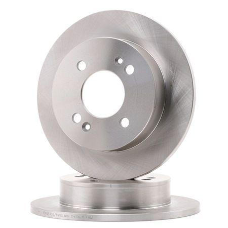 RIDEX 82B1421 Disc brake set