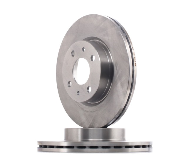 RIDEX Brake disc kit Front Axle, Vented