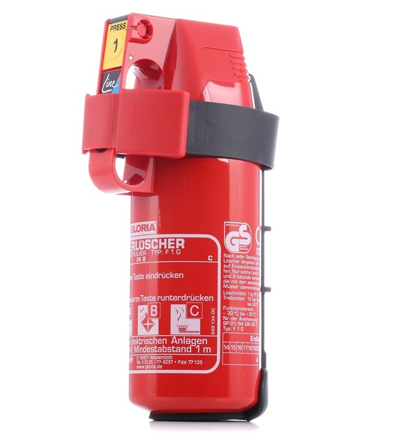 Fire extinguisher for cars from GLORIA - cheap price