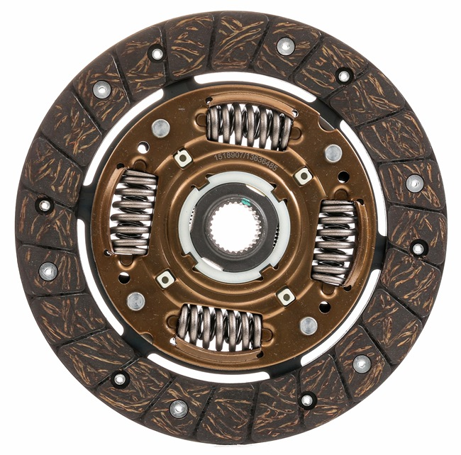 OEM Clutch Disc RIDEX 262C0034