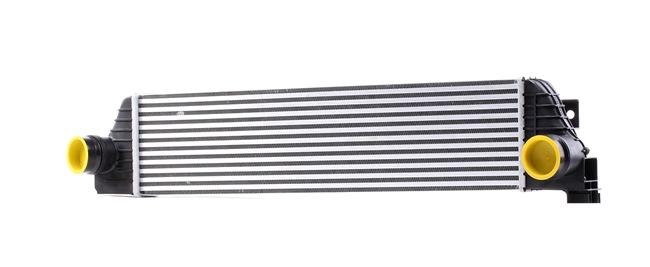 RIDEX Радиатор интеркулер OPEL размери на питата на радиатора: 730 x 173 x 50 mm