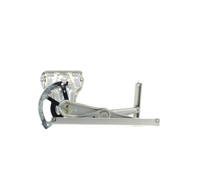 Mecanismo de elevalunas RIDEX 13643840 izquierda, delante, Tipo de servicio: eléctrico, sin electromotor
