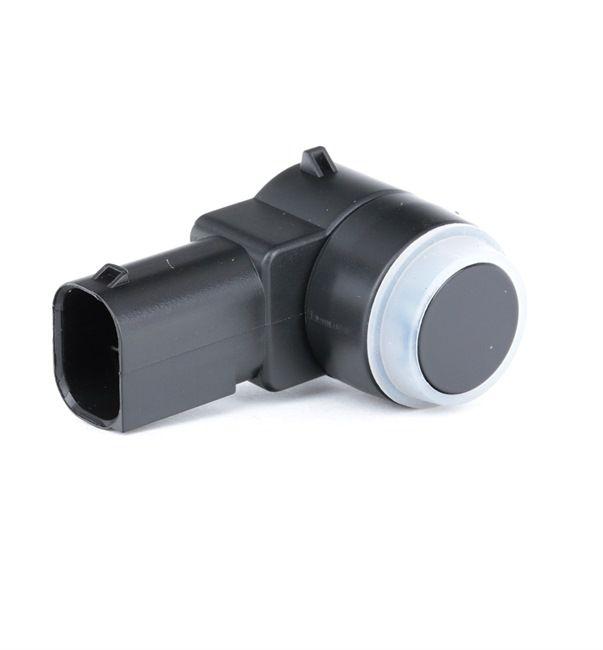 Park distance control sensors RIDEX 13644745 Front, Rear, Ultrasonic Sensor, Black